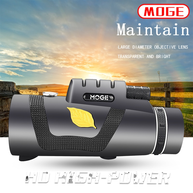 Telescopio Powerful Monocular Telescope 12x50 With SmartPhone Holder Suitable For Hiking Camping equipment Tourism Spyglass