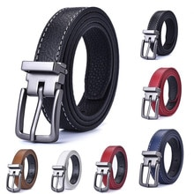 new style Fashion Children Leather Belts design alloy Pin buckle Boys Girls Kid Casual Waist Strap Waistband Jeans  Adjustable