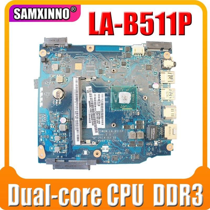 Z5W1M LA-B511P para Acer Aspire ES1-511 Laptop placa-mãe NBMML11002 DDR3 com CPU Dual-core 100% totalmente testado