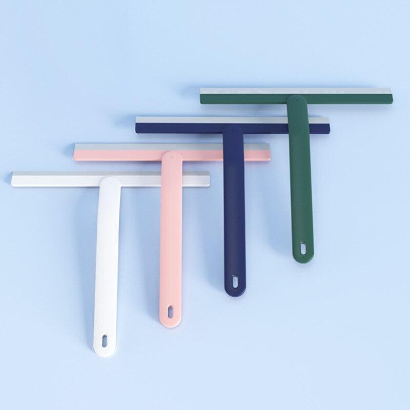 Wischer artefakt glas bad boden weichen gummi glas schaber büro haushalt glas wischer