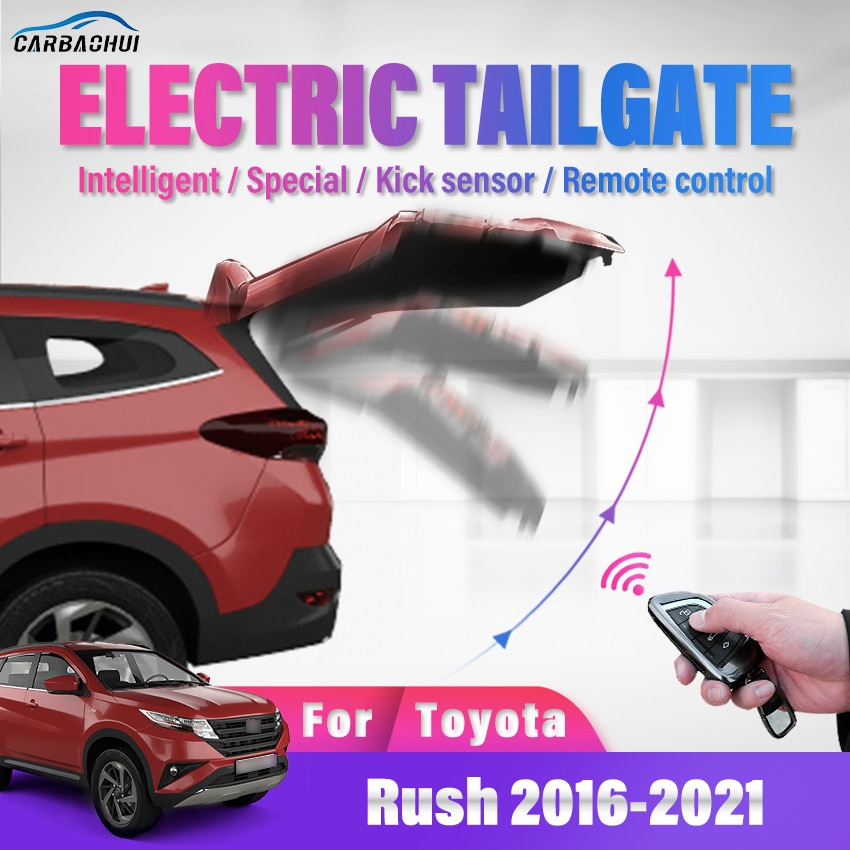 Electric Tailgate refitted tail box intelligent door power operated trunk Auto tailgate Sensor For Toyota Rush 2016-2021