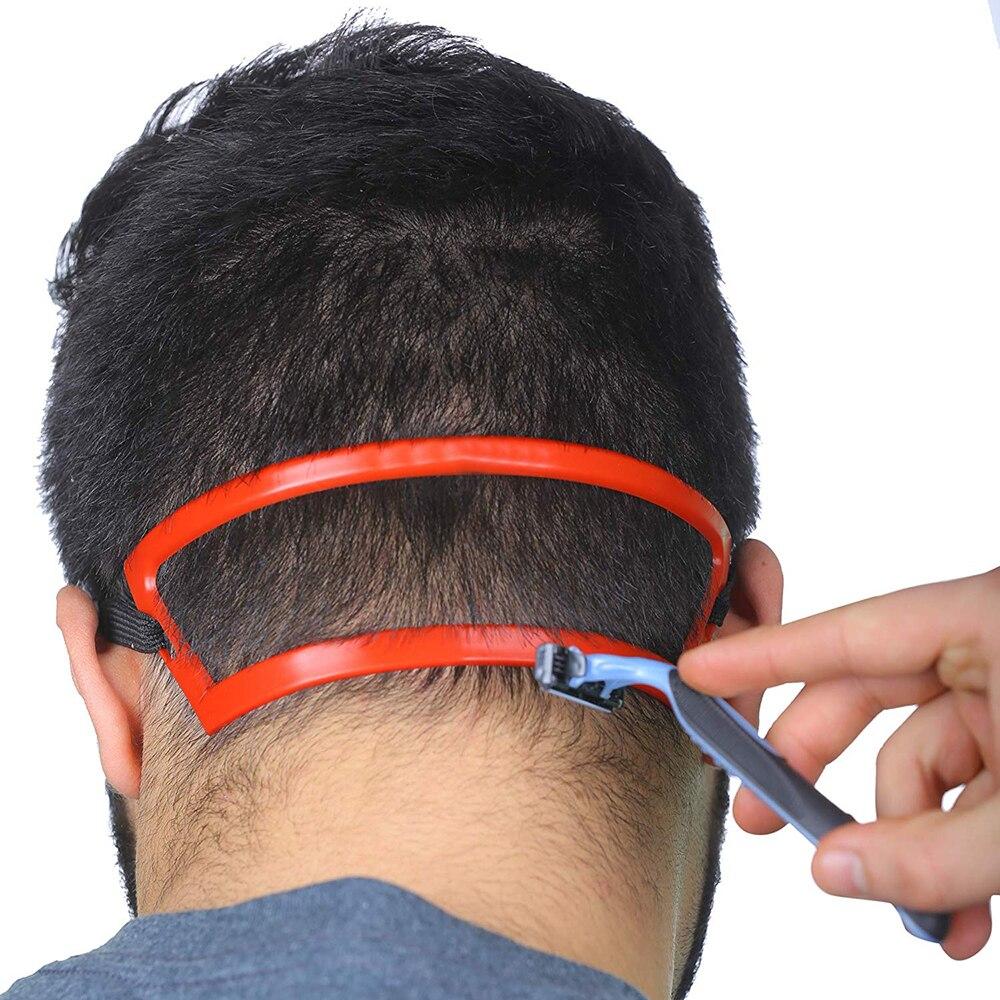 Волшебный Салон Парикмахерская шея для стрижки волос линия направляющая декольте стрижка шаблон для волос DIY инструмент шаблон для волос для шеи Линия для волос