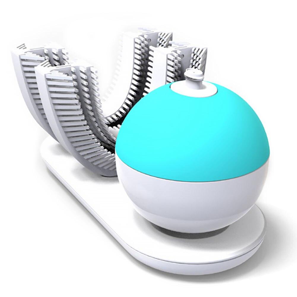 De Amabrush recargable inalámbrica de 360 grados de las manos-eléctrica en forma de cepillo de dientes