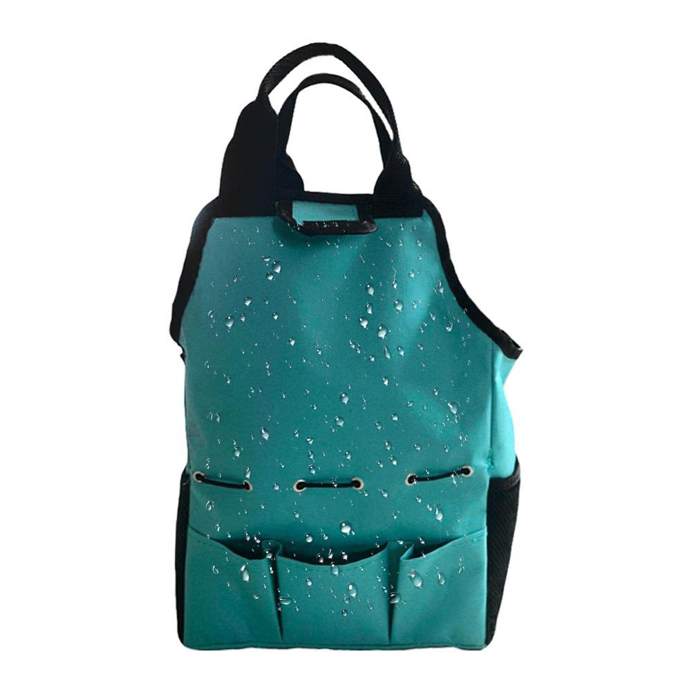 Oxford Cloth Kit Portable Gardening Tote Bag Wear Resistant Garden Tool Storage Bag Organizer With Pockets