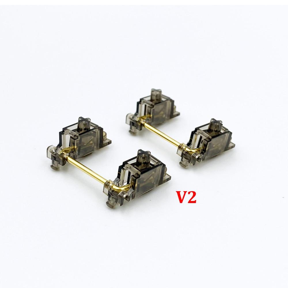 Estabilizadores de durock v2 screw-in teclado smokey estabilizadores com design especial sem fio de queda