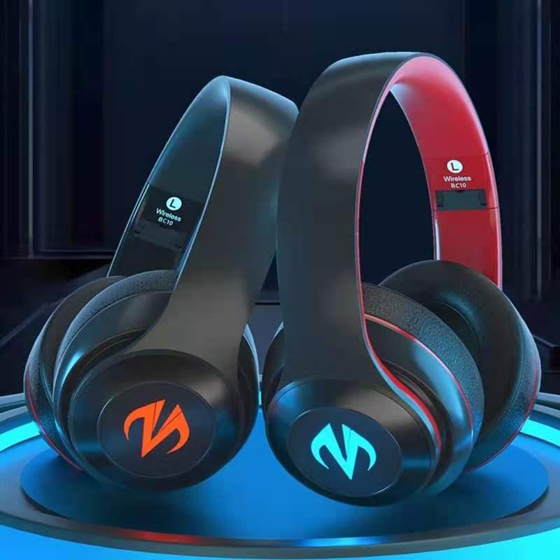 Fone de Ouvido Bluetooth sem Fio Atraso com Microfone para Tablet Profissional Jogos E-sports Surround Noise Cancelando Nenhum Móvel Ps4 pc 7.1
