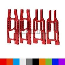 Nouveau ENRON 1 ensemble de bras de Suspension inférieur avant et arrière en aluminium voiture RC pour HPI 110 1/10 balle 3.0 ST/MT