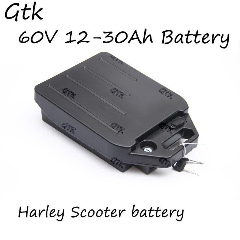 60V 20Ah 25Ah 30Ah 12Ah 15Ah 18Ah Lithium-Ionen Batterie Li Ionen BMS Für X7 X8 X9 X20harley Citycoco roller Fahrrad + 3A Ladegerät