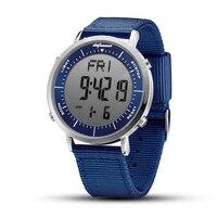 Часы мужские электронные в стиле милитари, повседневные цифровые спортивные, из нержавеющей стали