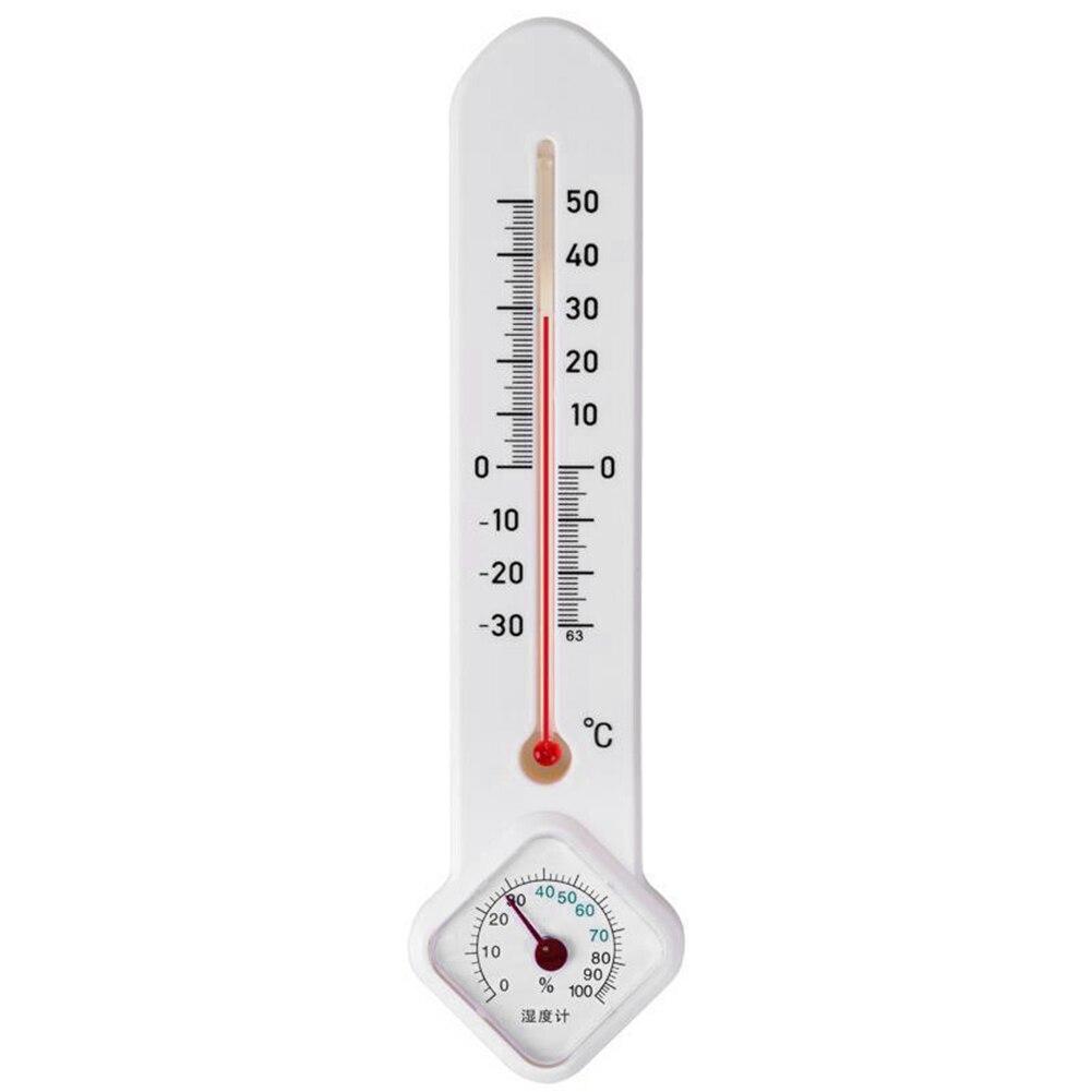 Настенный комнатный Измеритель температуры и влажности, многофункциональный вертикальный термометр-гигрометр для сауны