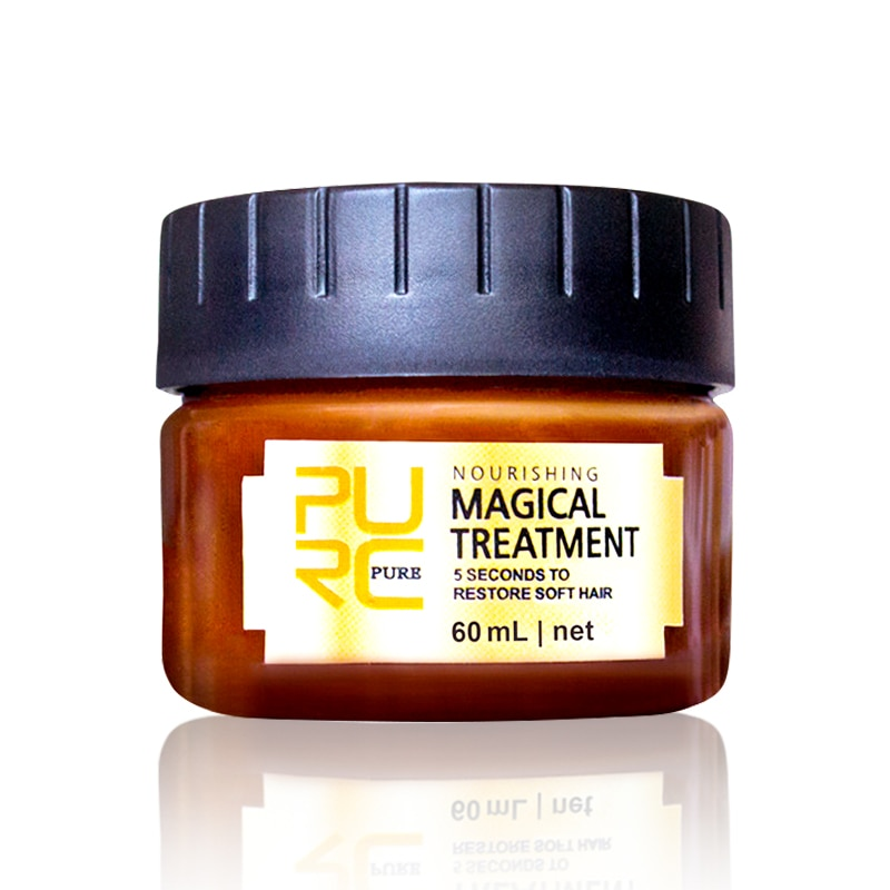 Magical Treatment Mask 60ml Keratin Hair Treatment Hair Care 5 Seconds Repairs Frizzy Make Hair Soft Smooth