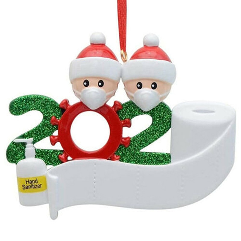 Baby ChildrenToys Gift Snowman Christmas Tree Hanger DIY Name Decoration Xmas Santa Claus Pendants Ornament for Kids недорого