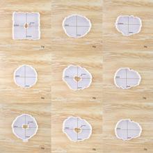 Table décoration moule caboteur ensemble multi-standard tasse faisant des bijoux bricolage outil époxy moules Silicone cristal Mat C5N3