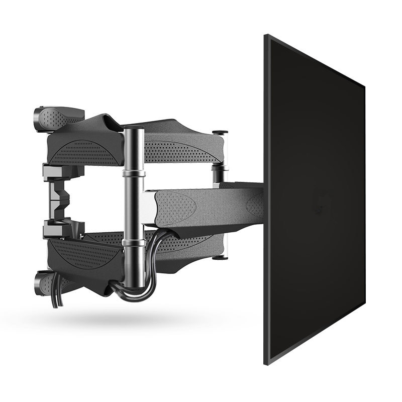 TV Wall Mount TV Stand Bracket Articulating Full Motion for 32inch-60 inch Television Set up to 400x400mm 88 lbs
