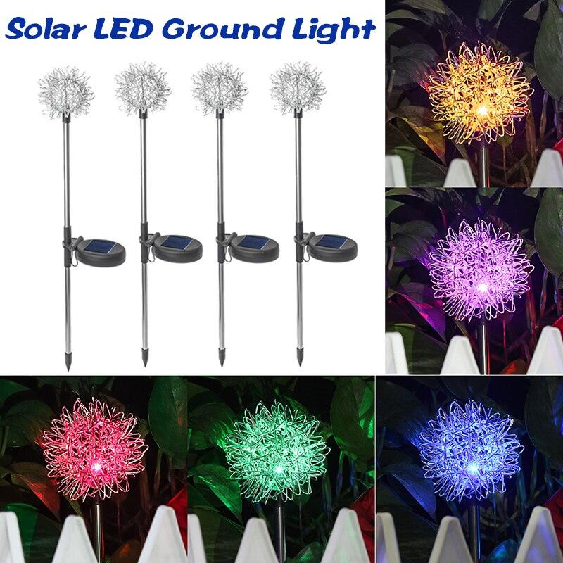 الطاقة الشمسية مصابيح إضاءة للمناظر الطبيعية شكل النبات في الهواء الطلق فريد فناء مصباح حديقة لحديقة فناء الديكور DSS899
