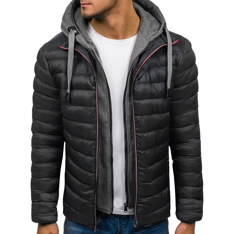 Мужские зимние куртки с капюшоном, мужские куртки и пальто, толстая большая шляпа 3xl, уличная одежда 2021