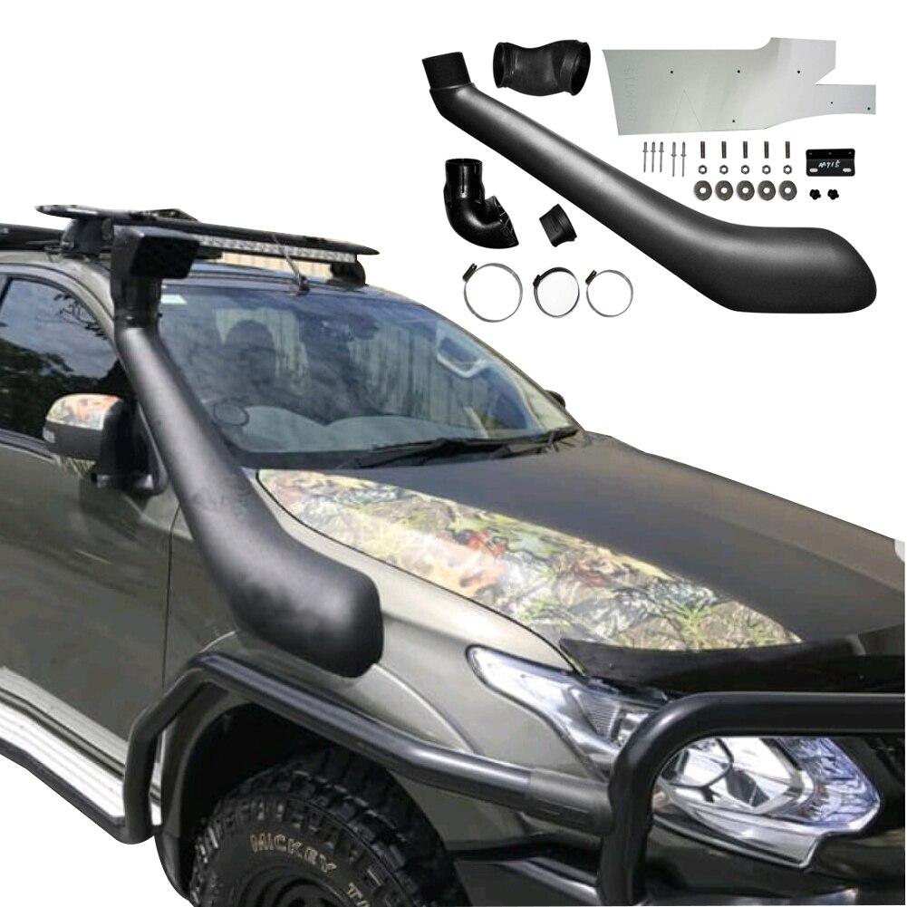 Coche Kits de esnórquel de admisión de aire para Mitsubishi l200 tritón 2015-2018 bárbaro Fiat Fullback Ram 1200 Mitsubishi Strada Strakar
