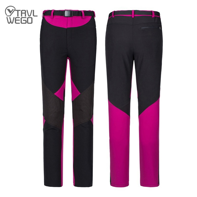 TRVLWEGO Hiking Camping Climbing Pants Summer Thin Breathable Quick Dry Pants Women Outdoor Sports Travel Waterproof Trousers 2019 new summer ultra thin skin sports outdoor women s quick drying sunscreen waterproof breathable air conditioning jacket