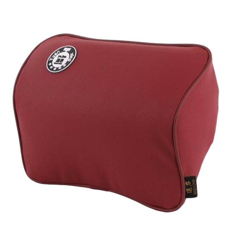 Auto Safety Pillow Car Headrest Breathe Car Auto Seat Head Neck Rest Cushion Headrest Pillow Pad Com