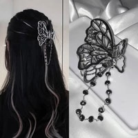 tassels hair claw hollow non slip hair jaw clamps cool beautiful butterfly hair clips clips nice looking hair accessories