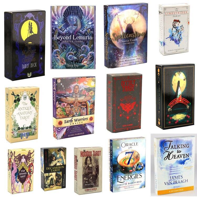 7 Tarot Karten Erde Krieger Tarot Deck Oracles E-Reiseführer Spiel Linestrider Spielzeug Divination Star Spinner Muse Hoodoo Occult