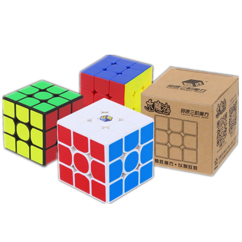 Yuxin cube Little Magic Professional Speed Magic Cube 3x3x3 Educational Learning Puzzle Cube Toy Magic Cubo Magico