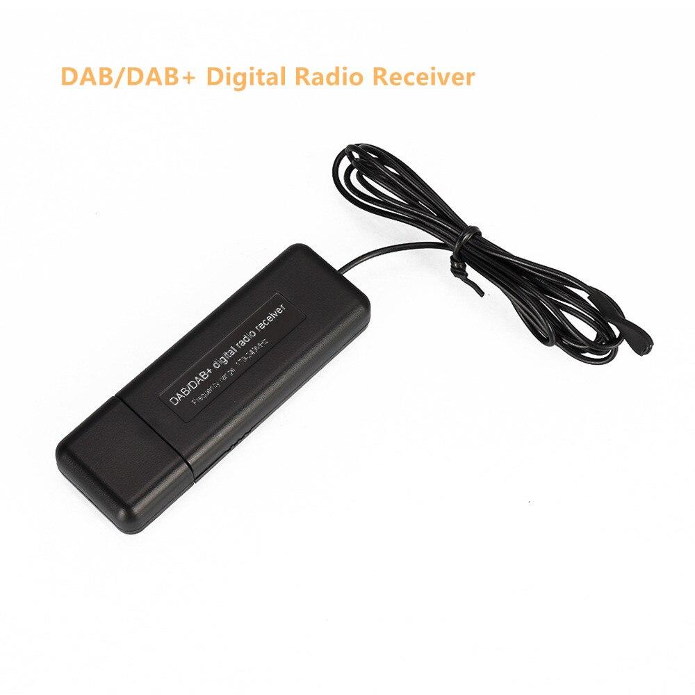 Mini receptor de Radio DAB/DAB +, transmisión Digital, recepción de amplificación Simple...