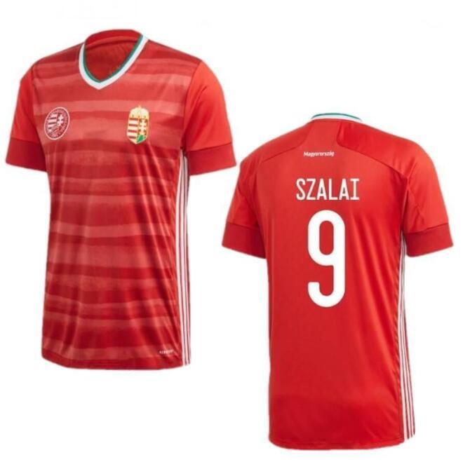 new 2020 2021 Hungary shirt home red 20 21 national team Dominik Szoboszlai Willi Orban Tamás Kádár uniform shirts