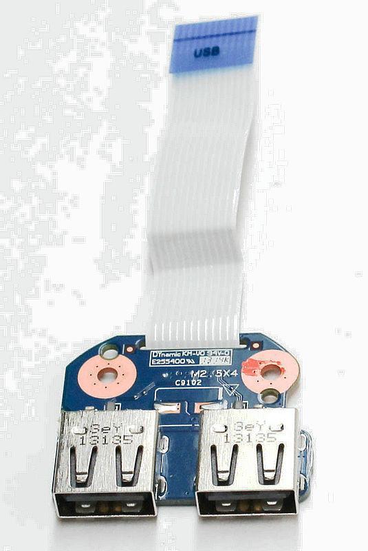 original for HP 2000 1000 CQ58 655 450 usb board 6050A2493701