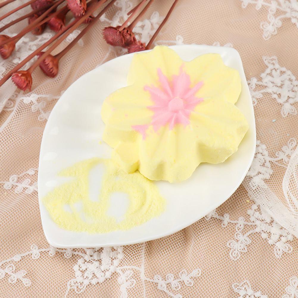1pcs Random Soap Petal Bath Salt Ball Moisturizing Moisturizing Handmade Oil Soap Essential Foam Salt Bath Exfoliating B0L9