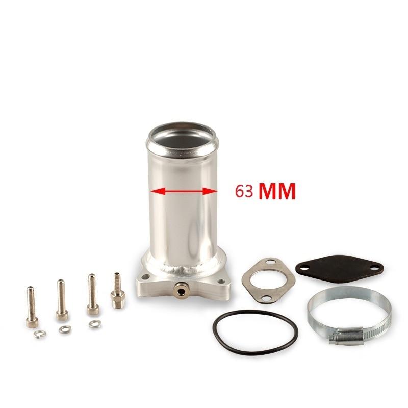 ¡Producto en oferta! Repuestos de válvula EGR de 63 mm y 2,5 pulgadas para audi seat VW 1,9 TDI 130k 150k 160k BHP Diesel egr, kits de eliminación