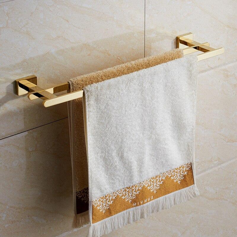 Vidric مزدوجة فوط صحية شريط منشفة الزنك الذهب الأبيض قلادة حديدية معلقة المرحاض