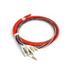 LC/UPC 12-core Multimode cavalier 1.5m câble optique cavalier optique cordon de raccordement Fiber cavalier câble Durable