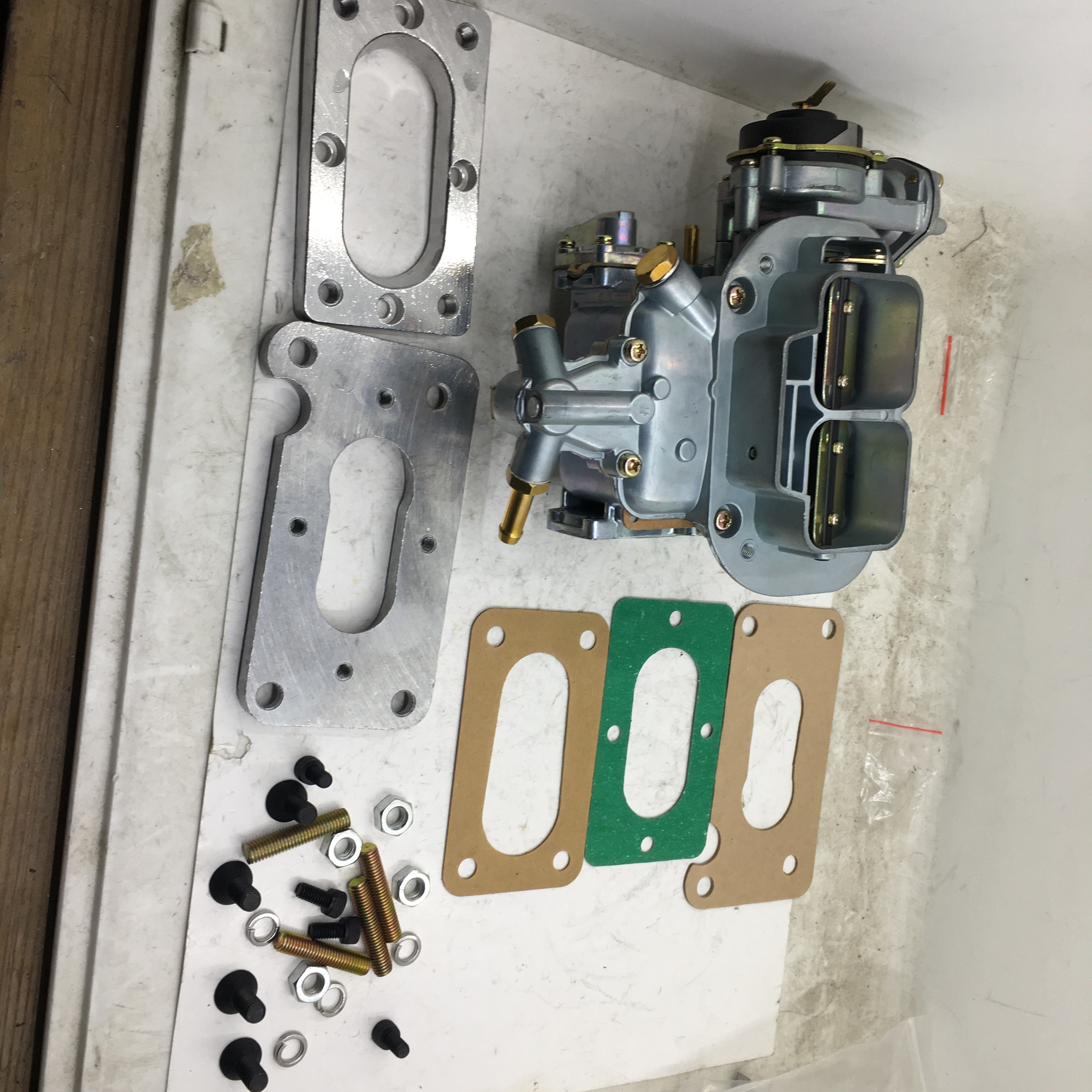 Sherryberg nova empi weber carburador carb placa adaptador kit para mazda b2000 b2200 adaptador + 32/36 dgev fajs vergaser carb