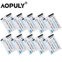 10 pcs/lot EN-EL12 Caméra Batterie EN EL12 1400mAh Batterie pour Nikon Coolpix S620 S630 S610C S6100 S6200 S640 S710 z1