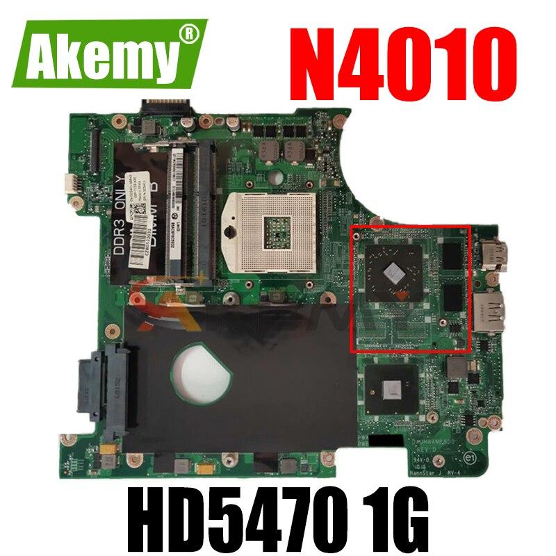 Akemy DAUM8AMB8D0 CN-0CG4C1 0CG4C1 CG4C1 اللوحة المحمول لديل انسبايرون 14r N4010 اللوحة HM57 HD5470 1G