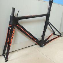 Last 50 52 54 56 58cm New carbon road bike frame road cycling bicycle frameset frame clearance frame fork seatpost carbon frame