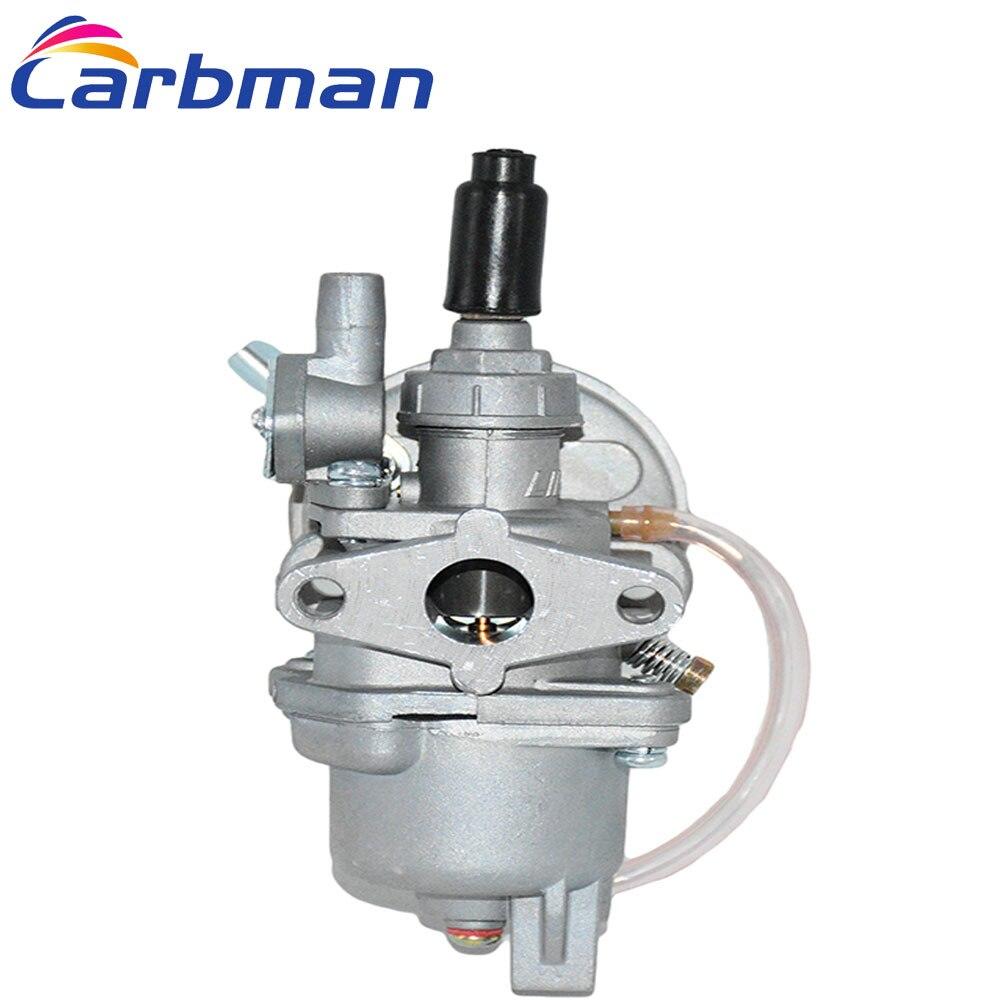 Carbman carburador para 47cc 49cc Mini Moto ATV suciedad bicicleta de bolsillo de combustible sistema de carburador