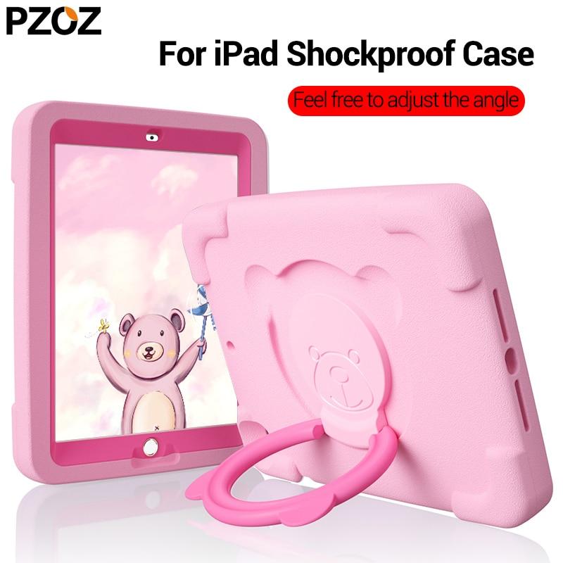 La caja fuerte de pzoz,la linda caja fuerte iPad 2018 Air 2 pro 9,7 pulgadas mini 1,2,3,4,5 cajas de Eva resistentes a las caídas,cajas de niños resistentes a los terremotos,cajas de niños no tóxicos.