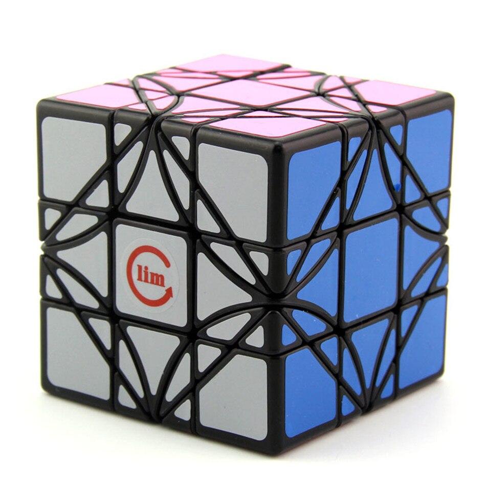 Fangshi-مكعب سحري F/S Lim Dreidel ، زاوية دوران فائقة ، 3 × 3 × 3 ، زاوية دوران 3 × 3 ، ألعاب تعليمية