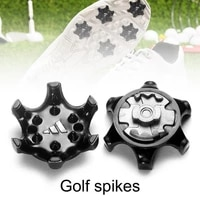10pcsset golf shoe spikes anti scratch golf training aids golf shoes spikes fast twisting studs tennis sports shoe accessories