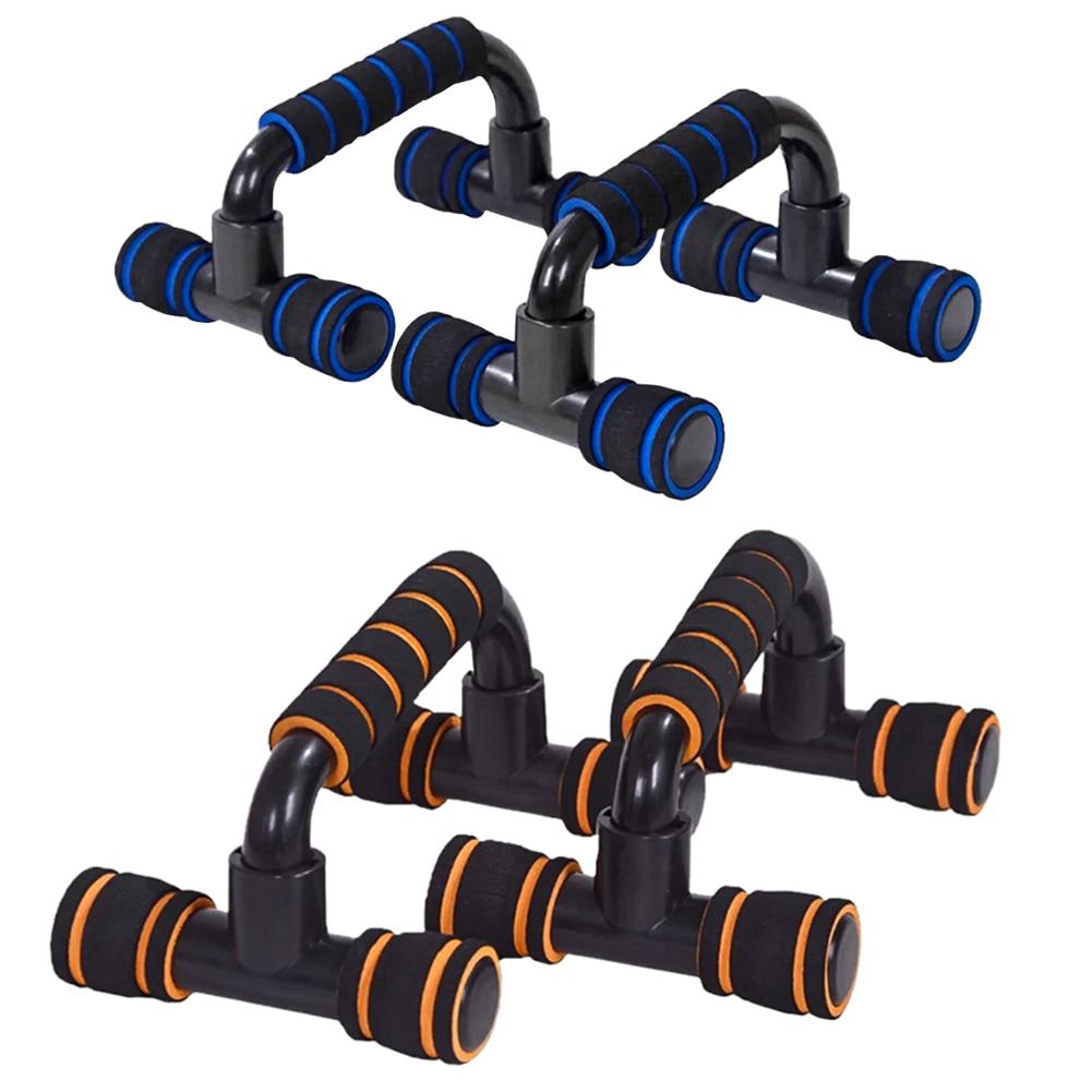 Push-ups Stands H-shaped Bracket Muscle Training Sponge Foam Fitness Equipment Gym Exercise Push Up Chest Bracket