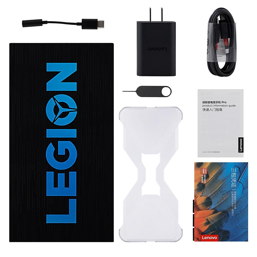 Фото4 - Смартфон Lenovo Легион Pro 5G, игровой телефон с глобальной прошивкой, 16 ГБ 512 ГБ, экран 6,65 дюйма, 144 Гц, Snapdragon 5000 Plus, мАч, суперзарядка 90 Вт, NFC
