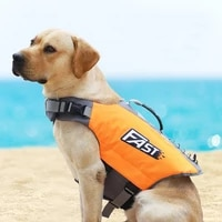 new reflective printing puppy life jacket pet swimming suits dog swimming supplies for the huge and middle pet bathing suit vest