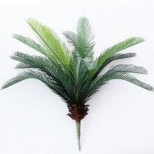 Fleurs artificielles en plastique palmier Tropical brésilien   bouquet de fausse plante pour fête dans la Jungle, décorations dappartement en faux feuillage