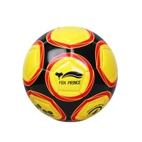 new soccer ball size 5pu particle surface wear resistant physical training rubber machine stitched football sporting goods ball