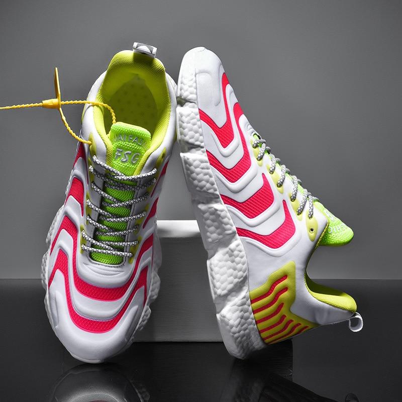 Zapatillas deportivas para hombre con diseño de marca, colores surtidos, zapatillas deportivas...