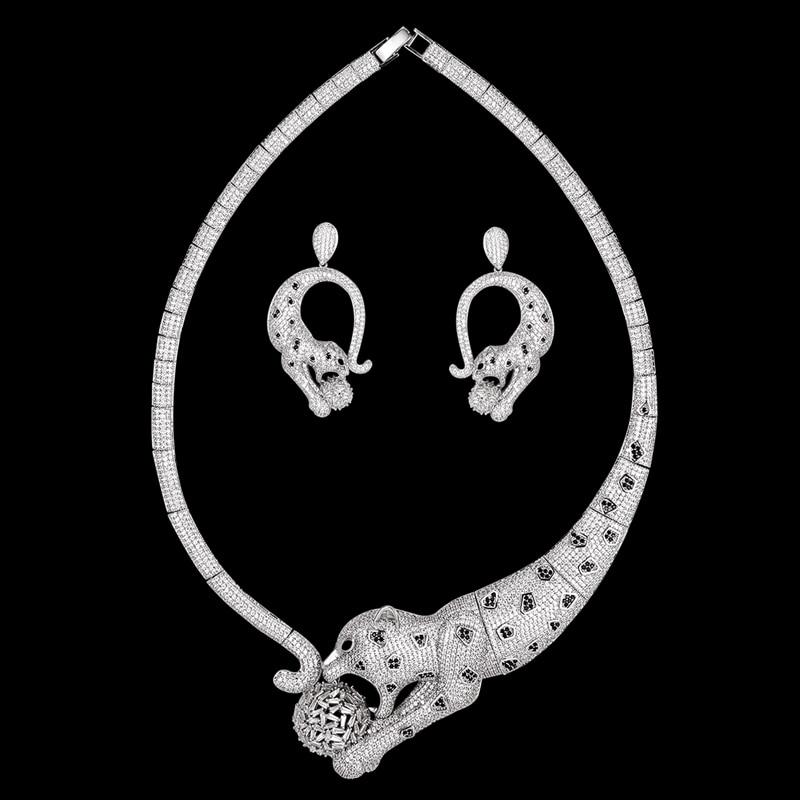 Zlxgirl-طقم مجوهرات نسائي ، عقد وأقراط ، أقراط ، زركون ، زركون ، زركون ، زركون ، زركون ، نحاسي ، ذهبي