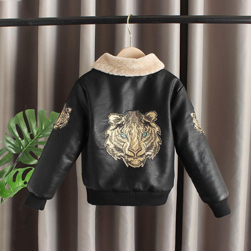Meninos jaqueta de couro primavera outono crianças moda casacos para o bebê menino adolescente outerwear roupas dos miúdos casuais tops ternos