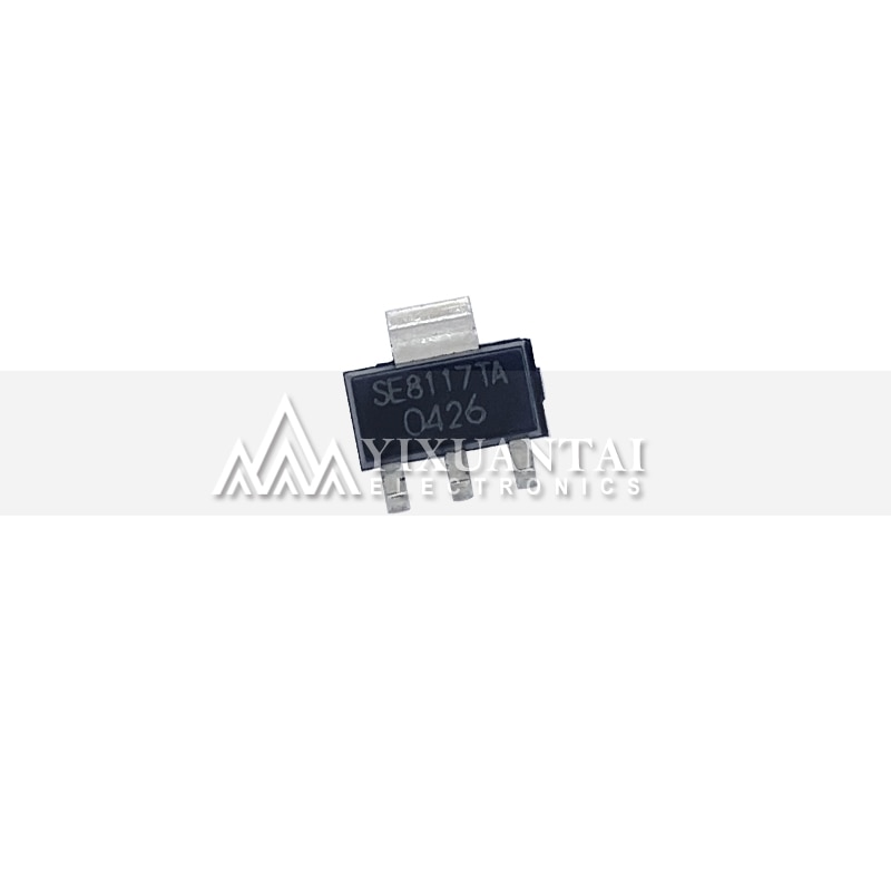 50pcs/lot Free shipping 100% original  SE8117T-3.3V    SE8117T33-LF-3.3V    SE8117T-ADJ    SE8117TA-LE-ADJ   SE8117    SOT223